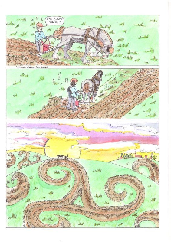 Catégorie 14-17 ans - 1er prix - Triskell par Naelle Bourhis-Mariotti (14 ans) de Feucherolles (78)