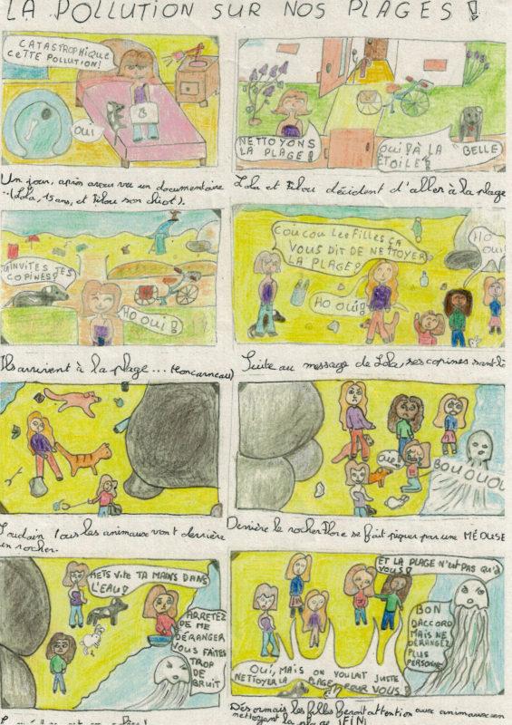 Catégorie 6-9 ans - 1er prix - Lila-Mai Godin  (9 ans) - Rosporden