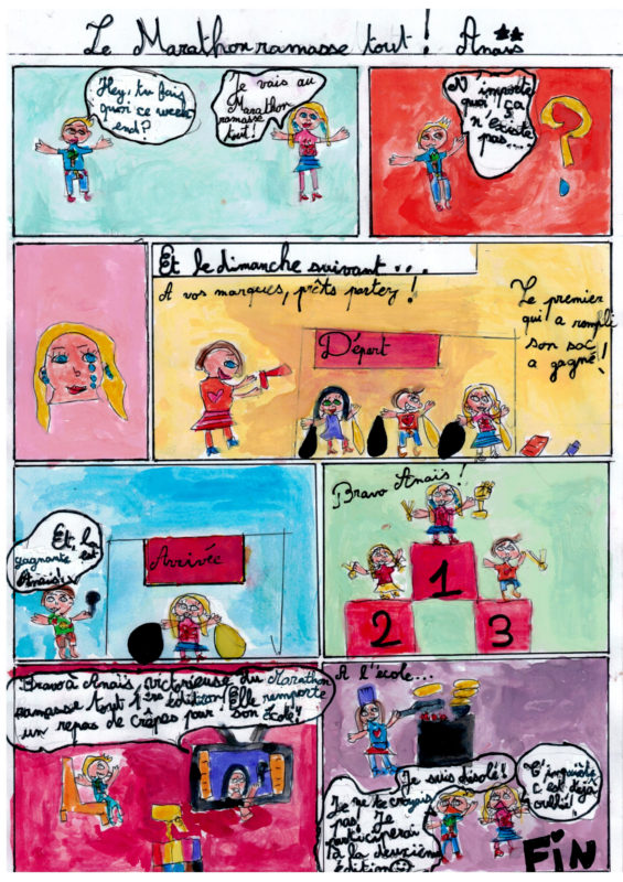 Catégorie 6-9 ans - 2e prix - Anaïs Theuriet Le Roux (8 ans) - Quimper